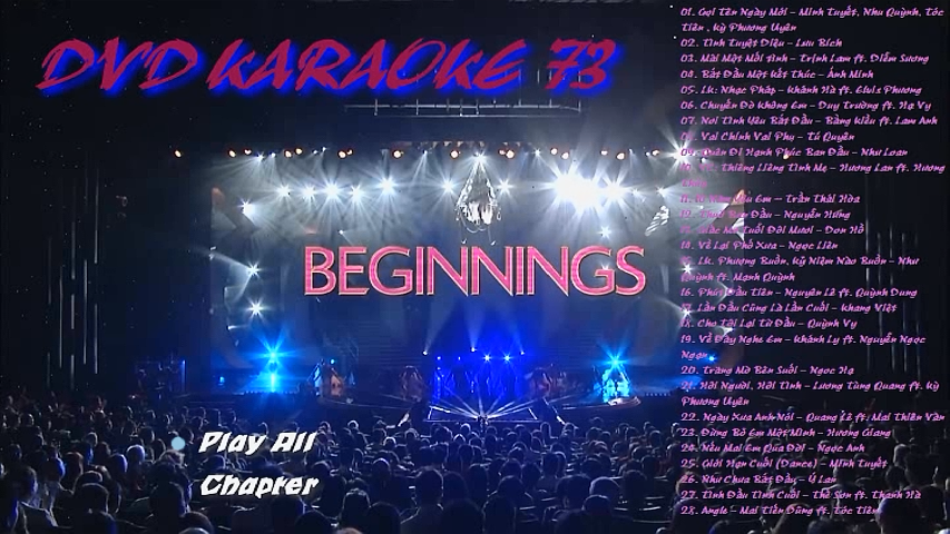 "Thúy Nga Karaoke 73 ""The Beginnings"" DVD 9 ISO"