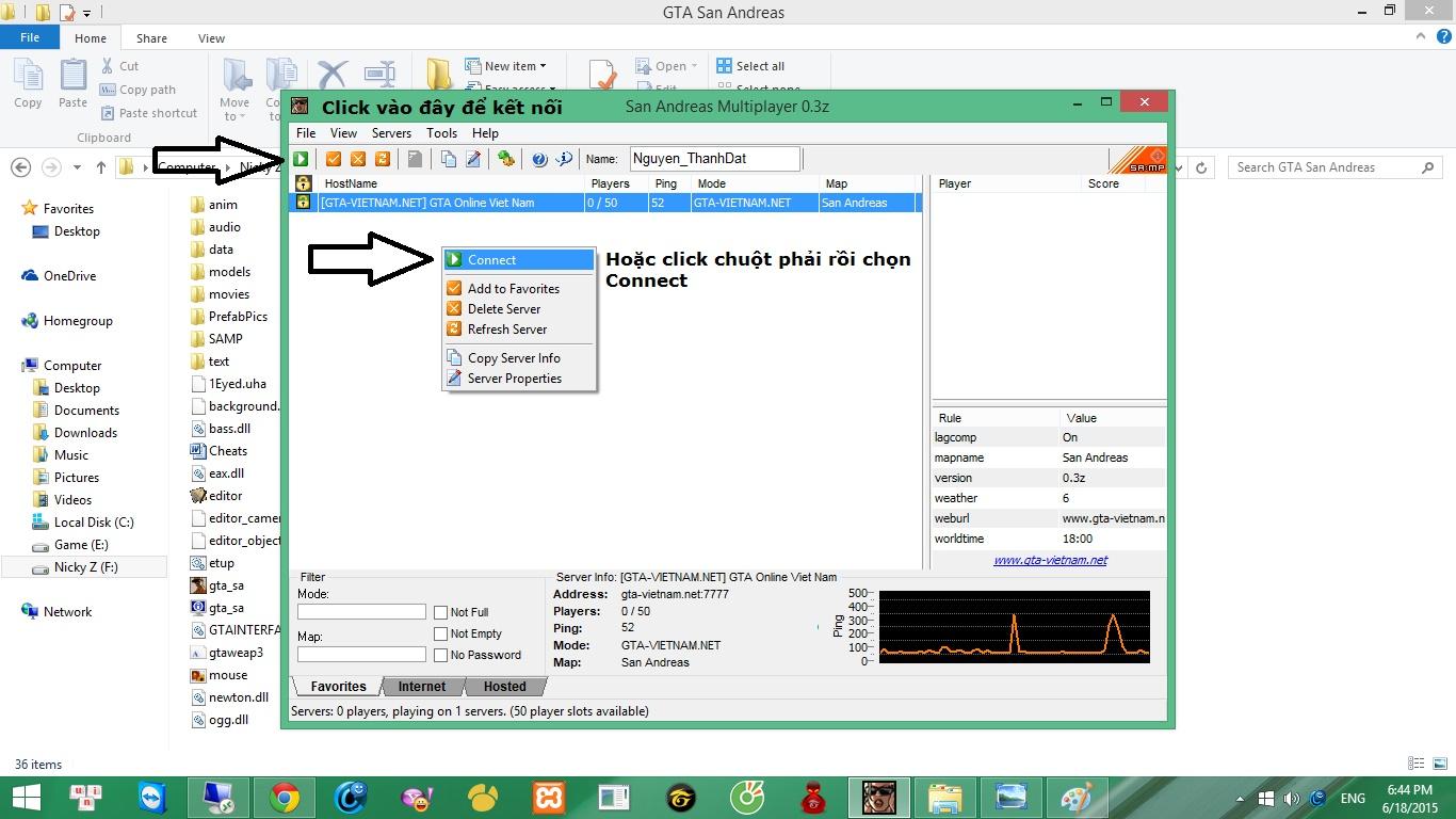 Quảng cáo Server GTA-VIETNAM.NET