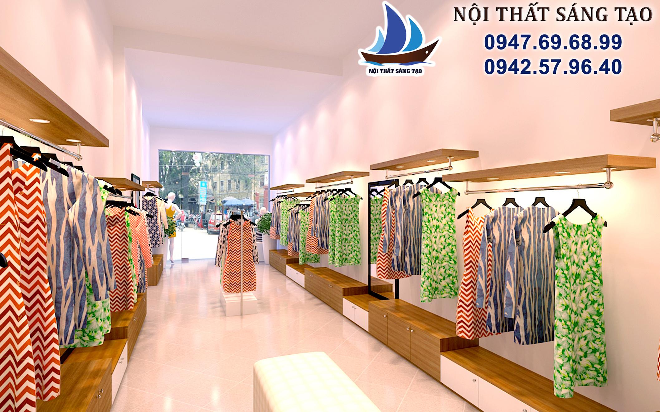 thiết kế cửa hàng chuyên nghiệp